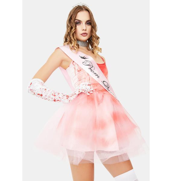 Trickz & Treatz Hell Of A Night Prom Queen Costume