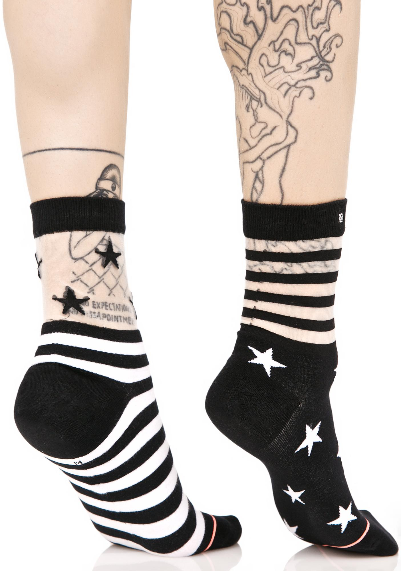 Stance Gothic Star Socks
