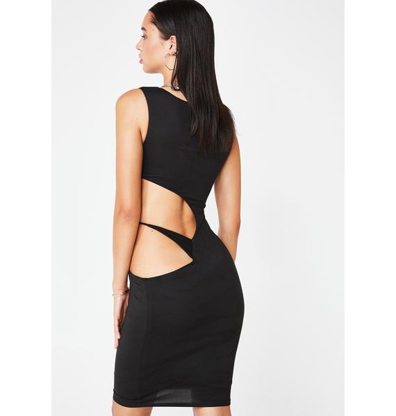 Risque Manners Cutout Dress