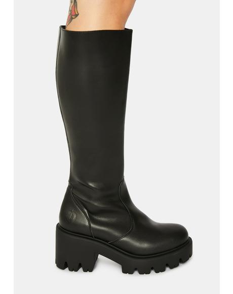 Luna Vegan Leather Boots