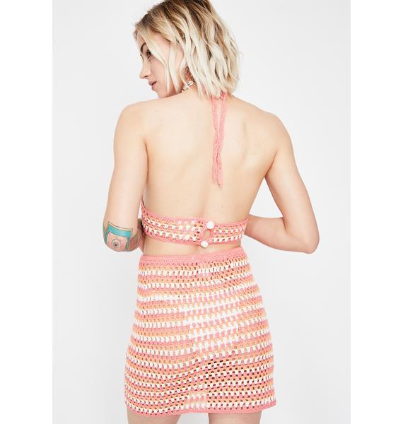 Summer Fling Crochet Skirt