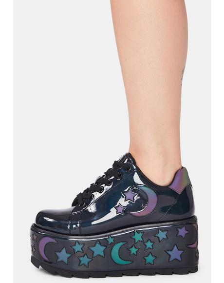 Lala Luna Platform Sneakers