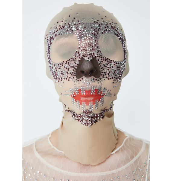 Kiki Riki Night Shimmer Skull Mask