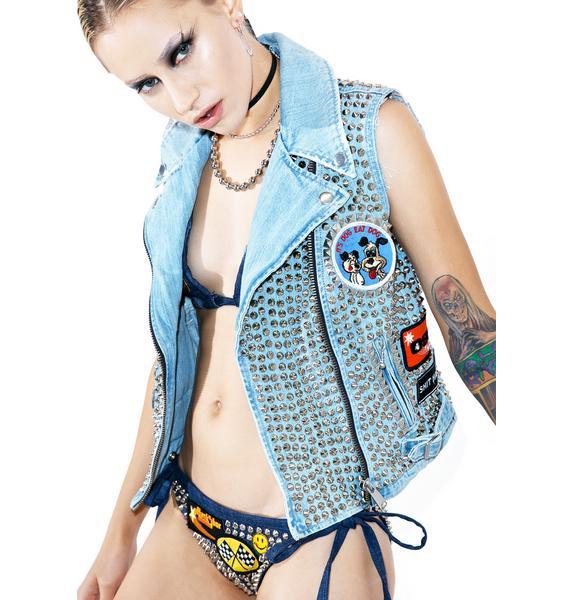Hazmat Design Vintage Deadstock Deathcrush Vest