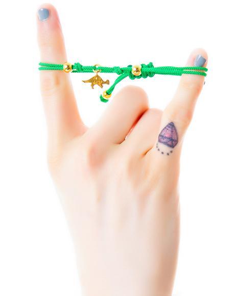x Giza Dinosaur Pachycephalosaur Micro Charm Bracelet