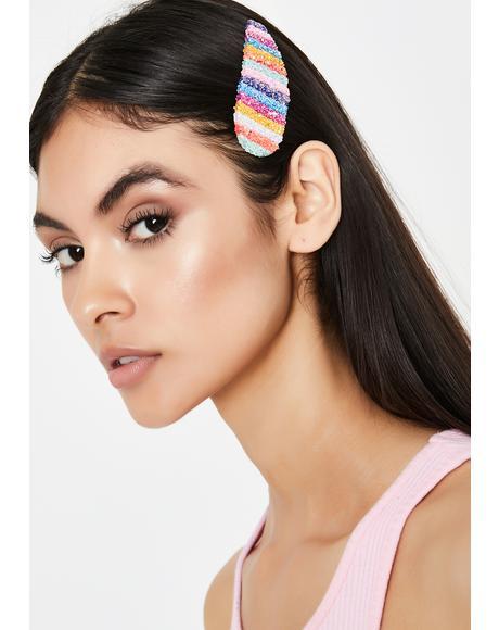 Miss Blushin' Boo Hair Clip