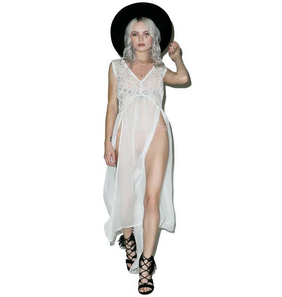 Sheer Beauty Maxi Dress