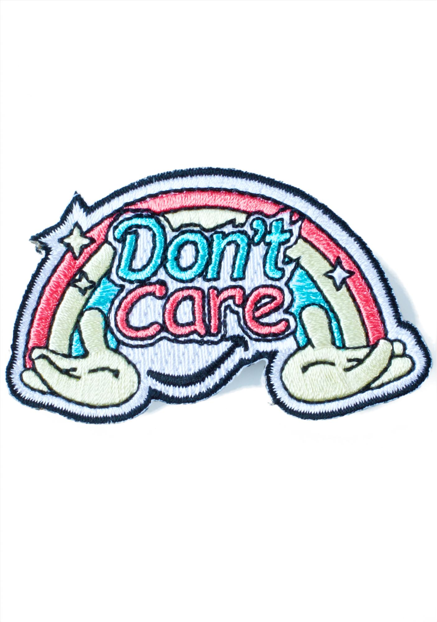 Eye Candy Designs Don't Care Patch