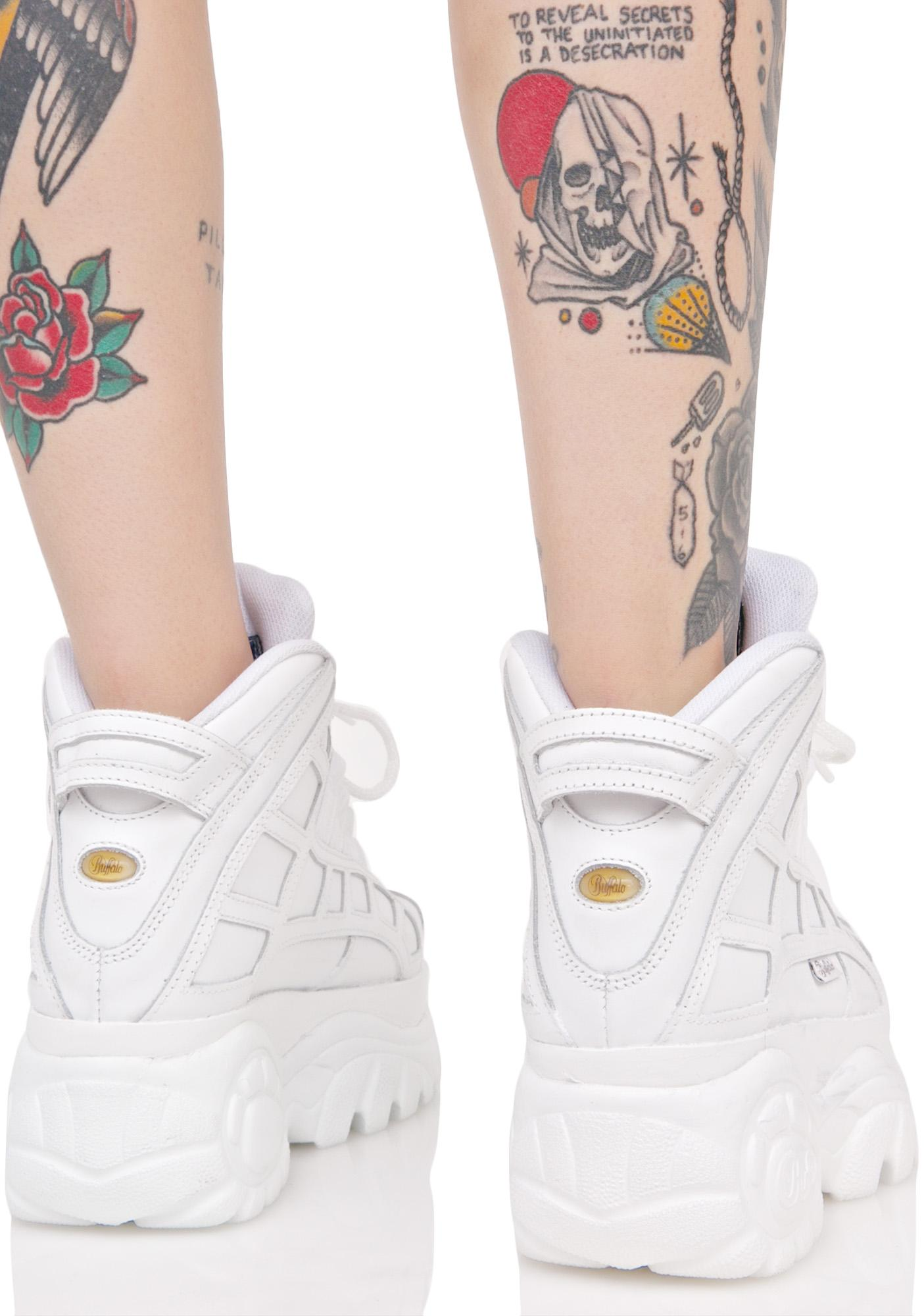 Buffalo Blanco Arched Platform Sneakers