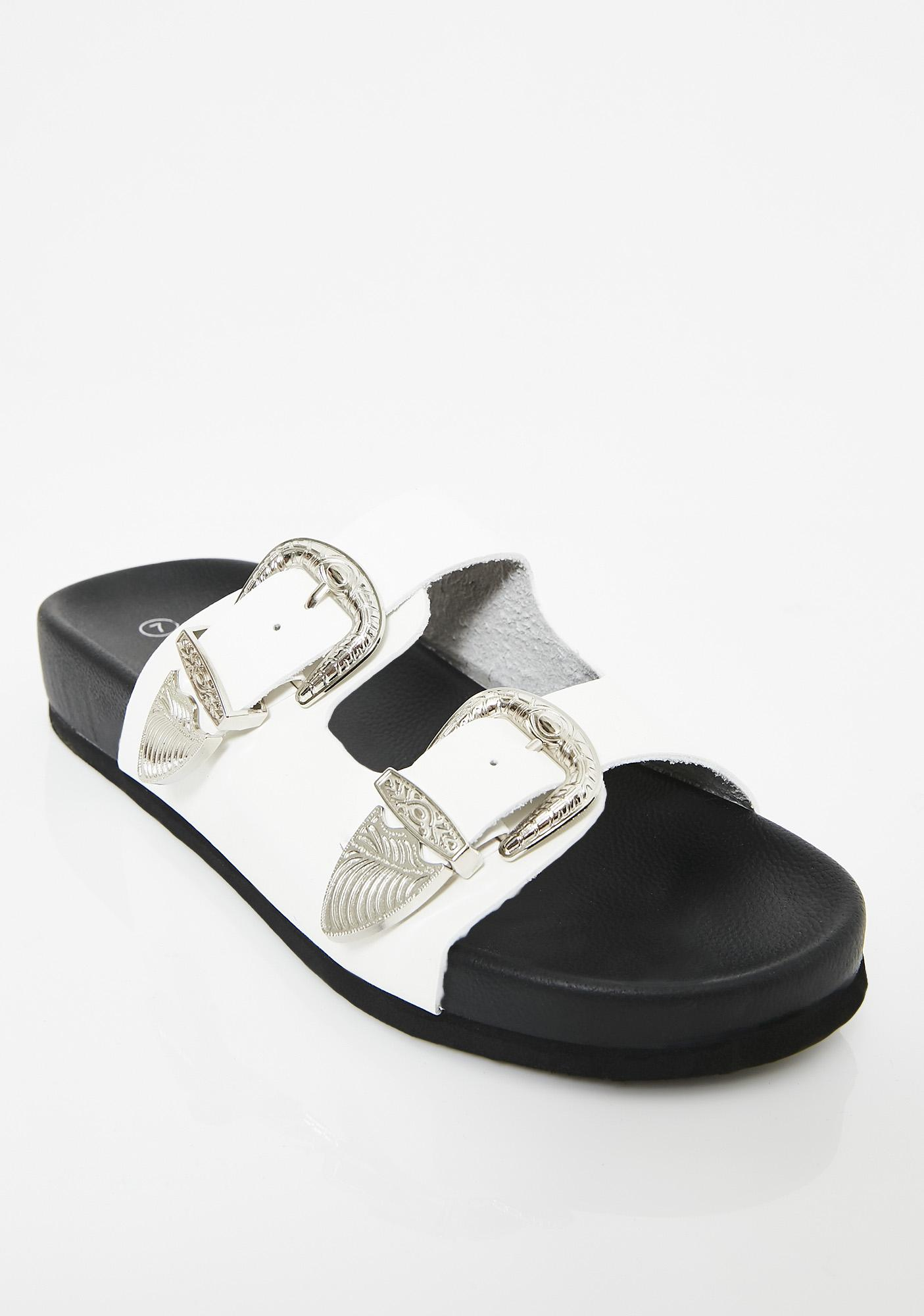 Rodeo Drive Buckle Slides