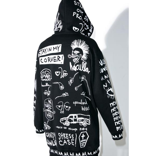 Haculla Collective Oversized Hoodie