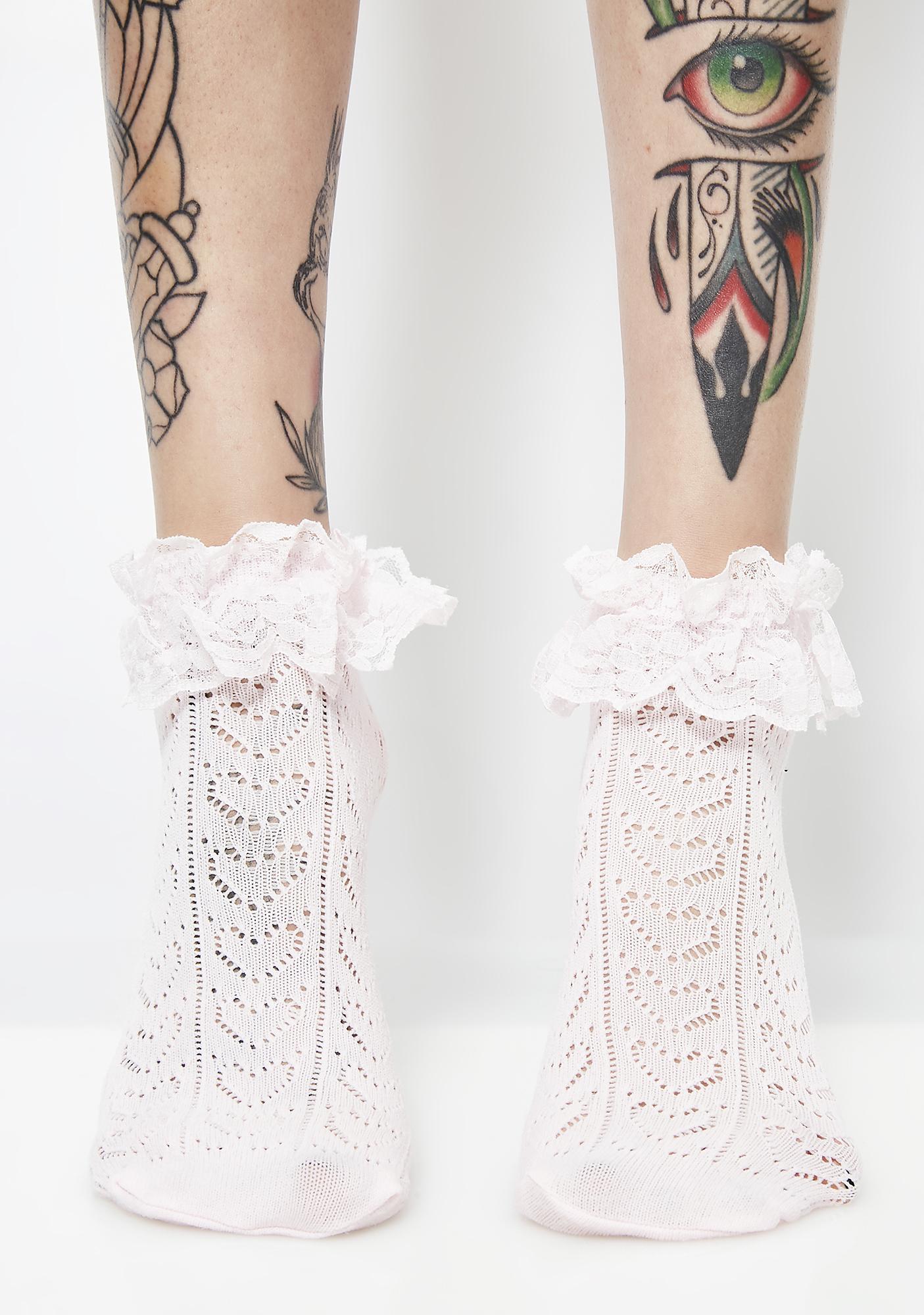 Lil Sweetie Ruffle Ankle Socks