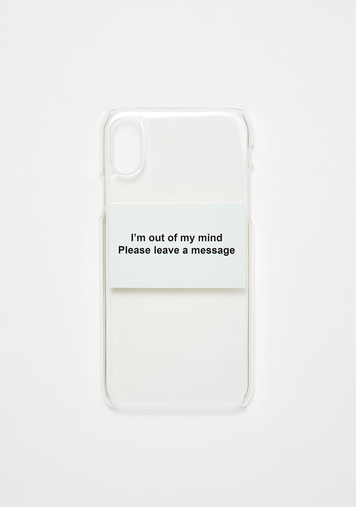 My Mum Made It Leave A Message Phone Case