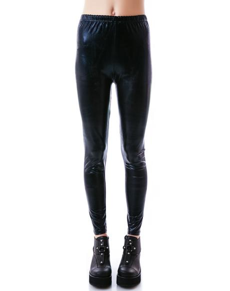 Devil's Playground Leather Leggings