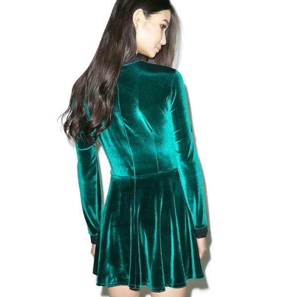 Valfré The Velvet Swan Dress