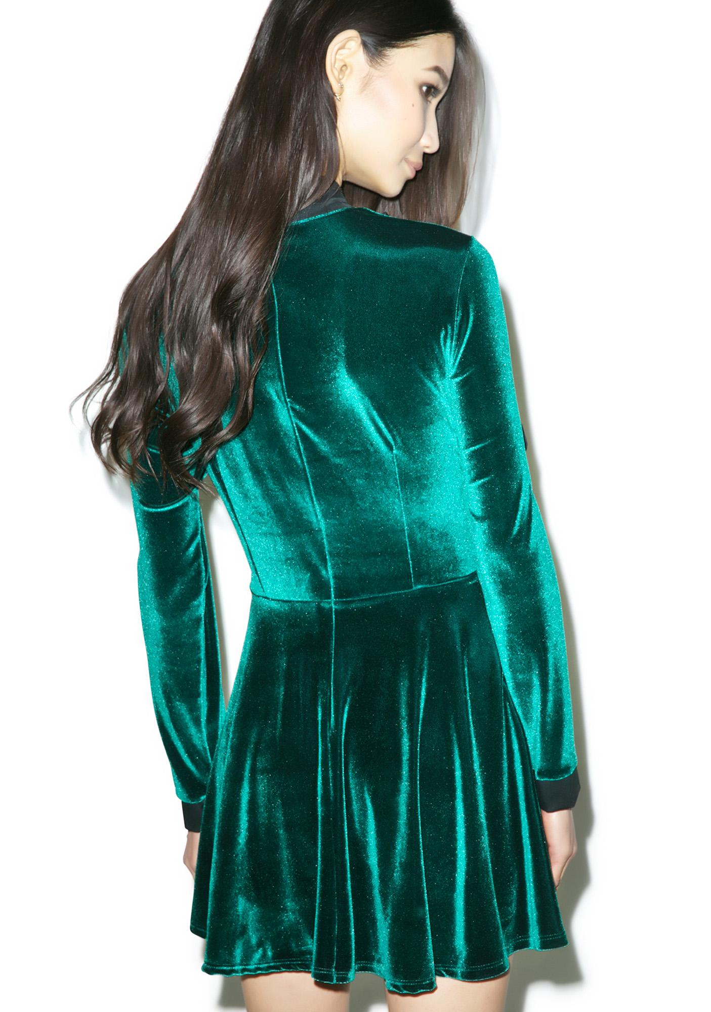Valfré The Velvet Swan Dress