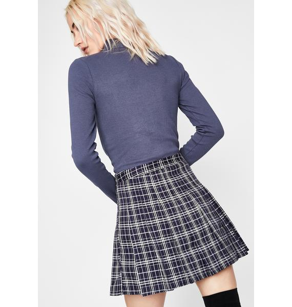 After School Thots Plaid Skirt