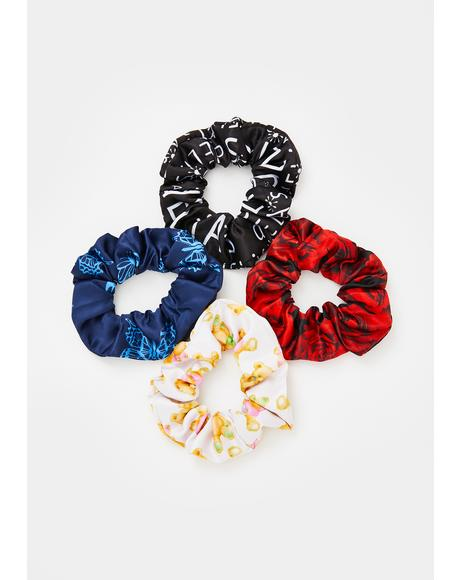 Ur The Bomb Scrunchie Set