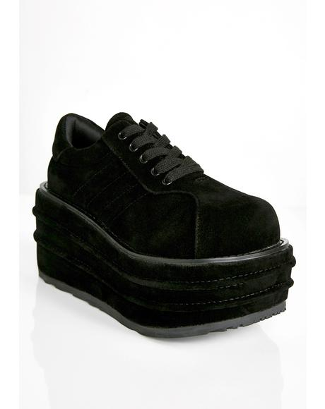 Grave Walker Platform Sneakers