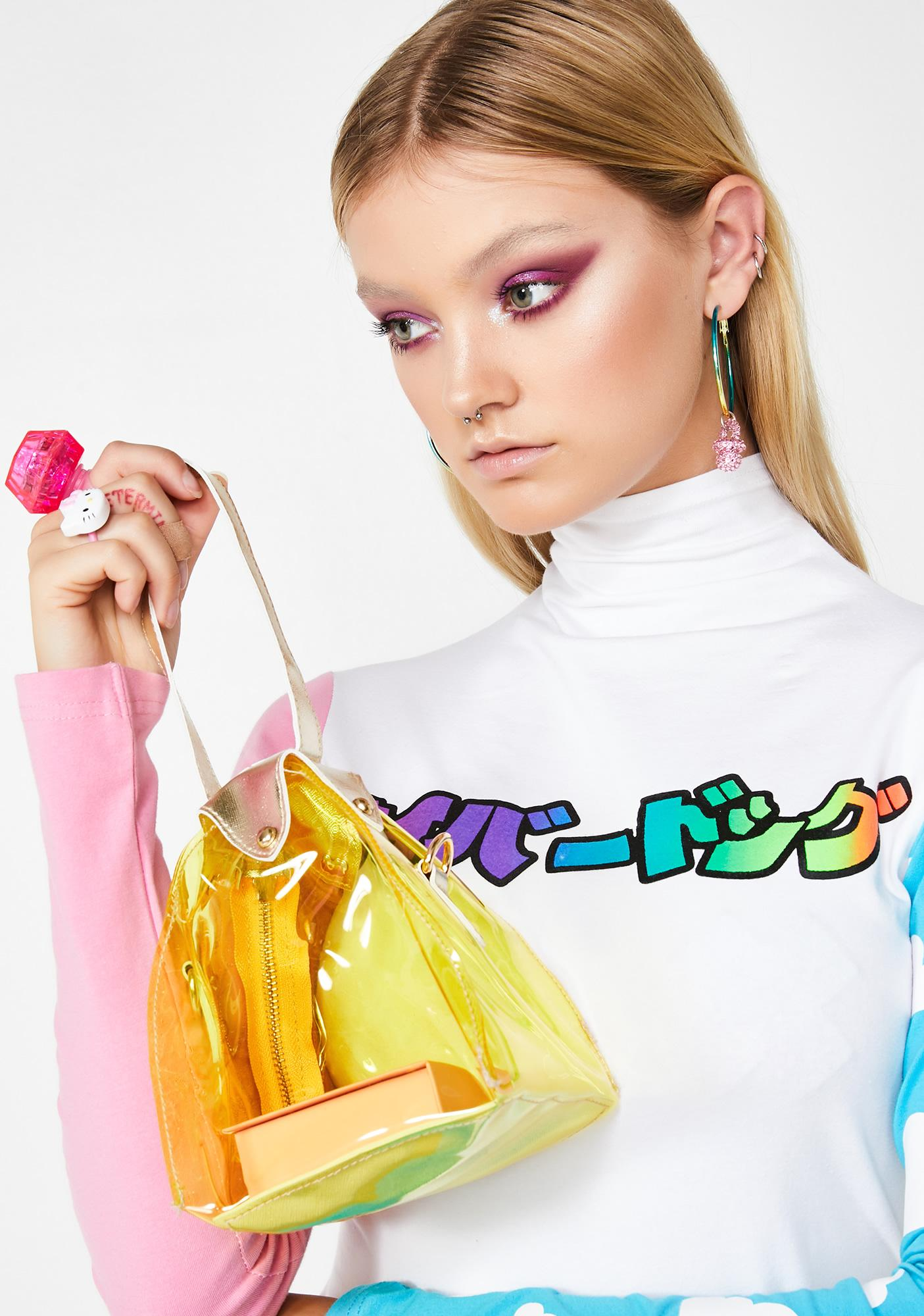 Technicolor Flavor Clear Bag