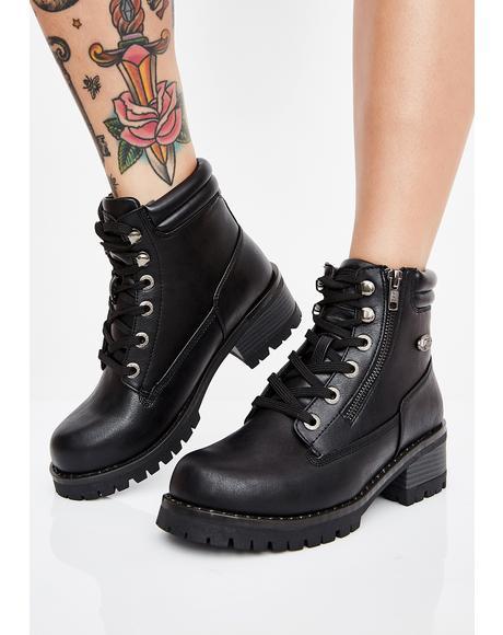 Flirt Hi Zip Boots