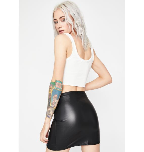 Rock Babe Ruched Skirt