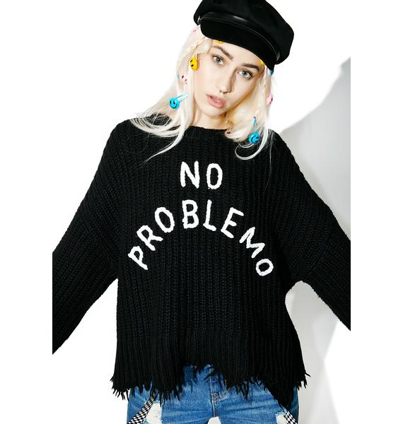 Wildfox Couture No Problemo Chase Sweater