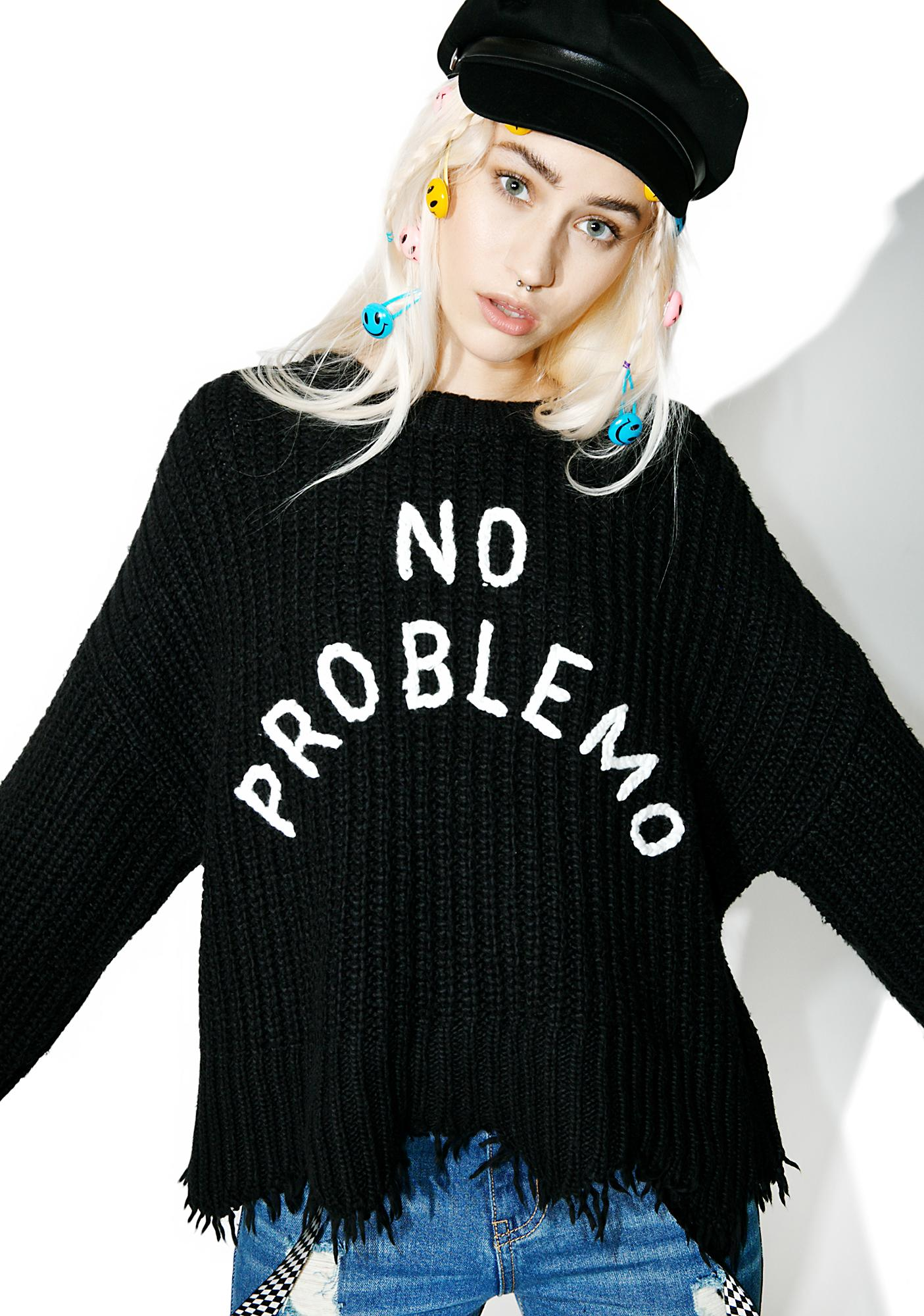5ae325bbc7799 Wildfox Couture No Problemo Chase Sweater