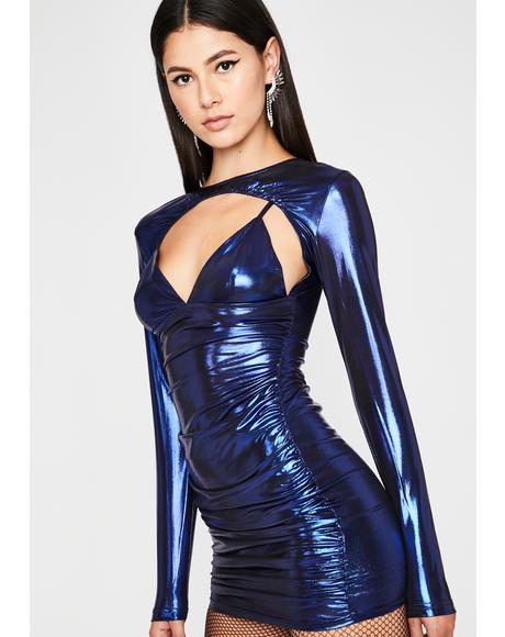 Royal Real Freak Nasty Metallic Dress