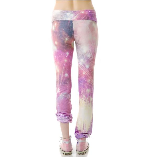 Wildfox Couture Firework Malibu Skinny Sweats
