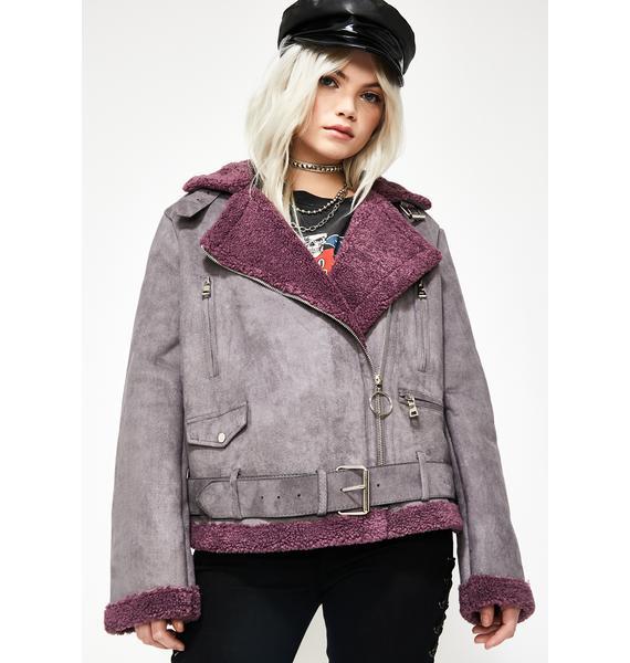 Wush Poppin' Aviator Jacket