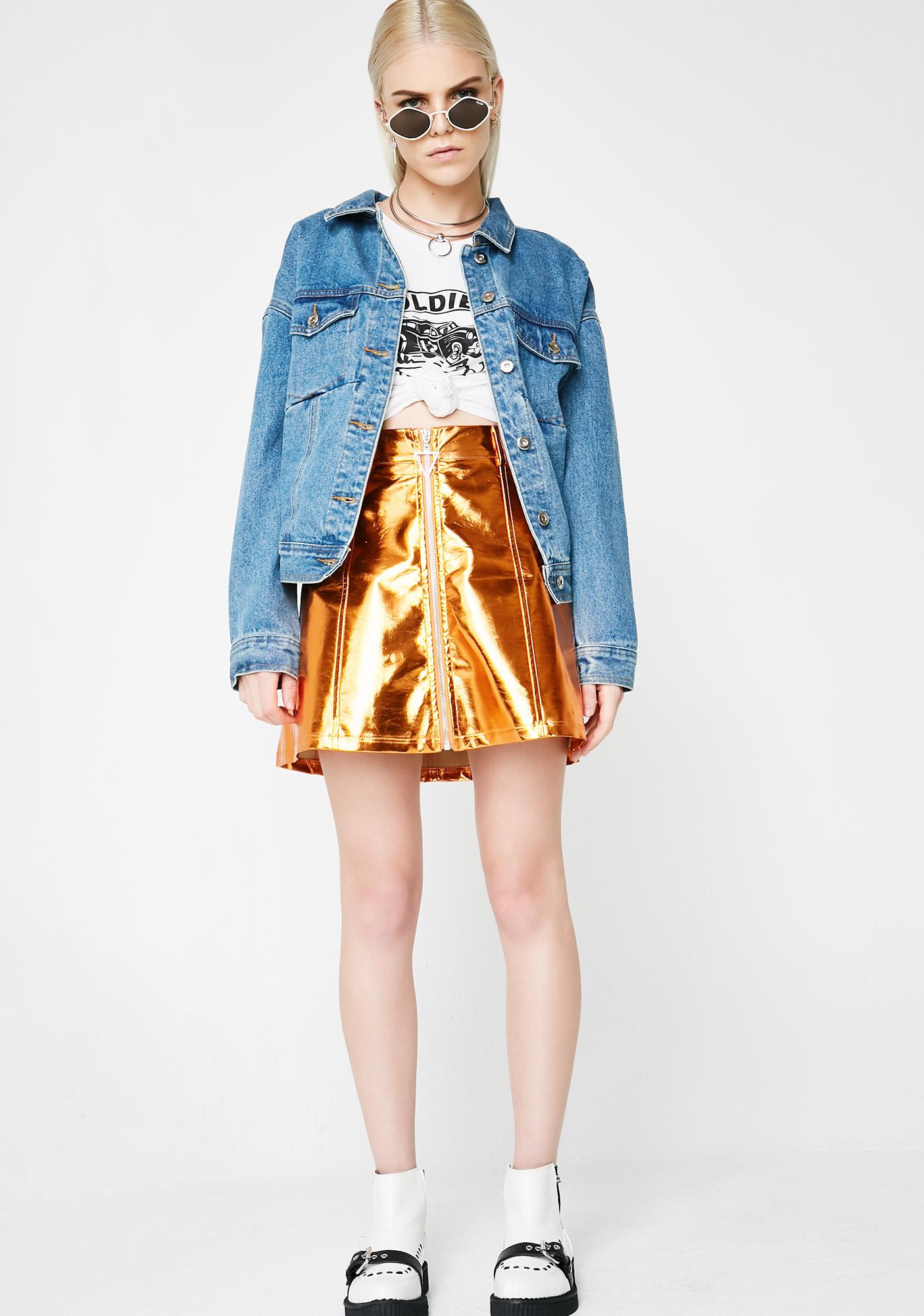 As I Am You Drive Me Crazy Skirt