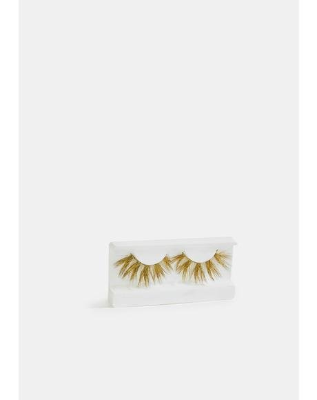 Golden Swirl Faux Mink Eyelashes