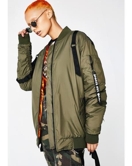 Takin' Off Bomber Jacket
