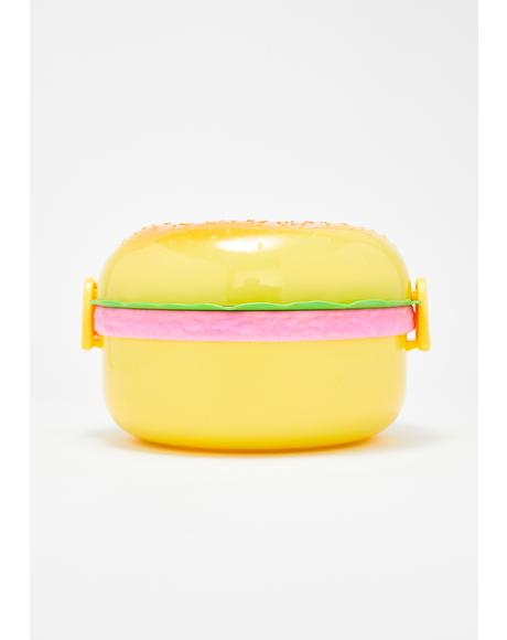 Super Size Me Burger Lunch Box