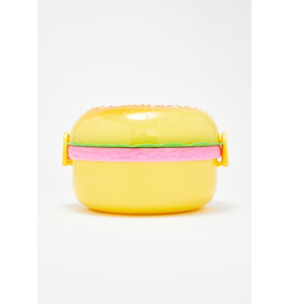 Super Size Me Burger Lunch Box