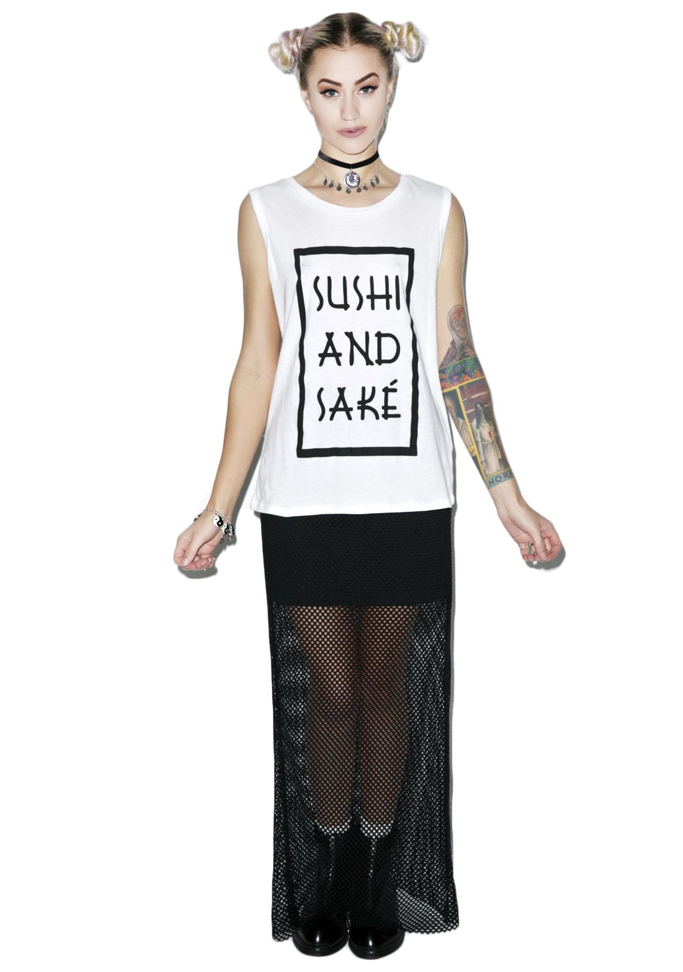 Mink Pink Sushi and Sake Tank