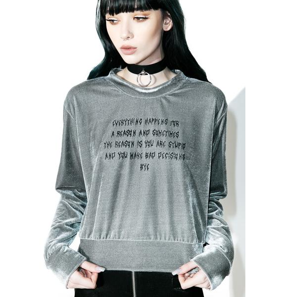 O Mighty Everything Happens For A Reason Sweater