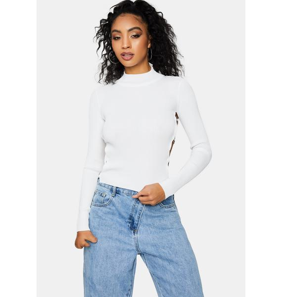 Pure Take What's Mine O-Ring Crop Top