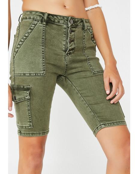 Operation Baddie Bermuda Shorts