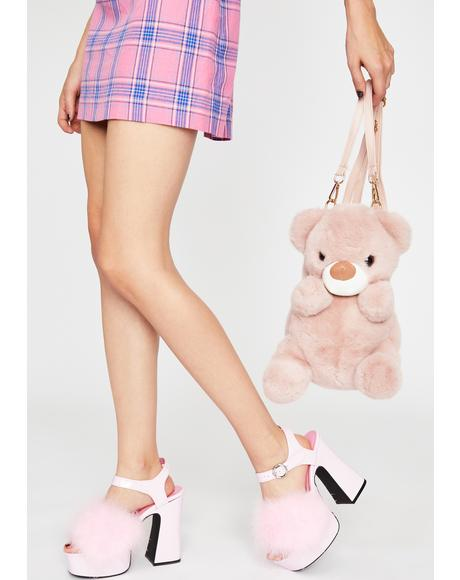 Plush Crush Bear Backpack
