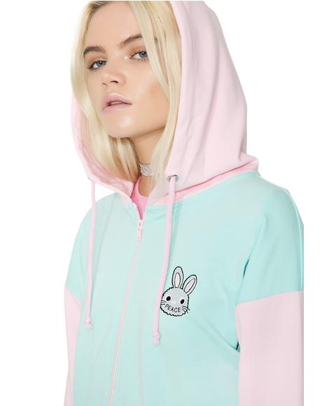 Bunny Cotton Hoodie