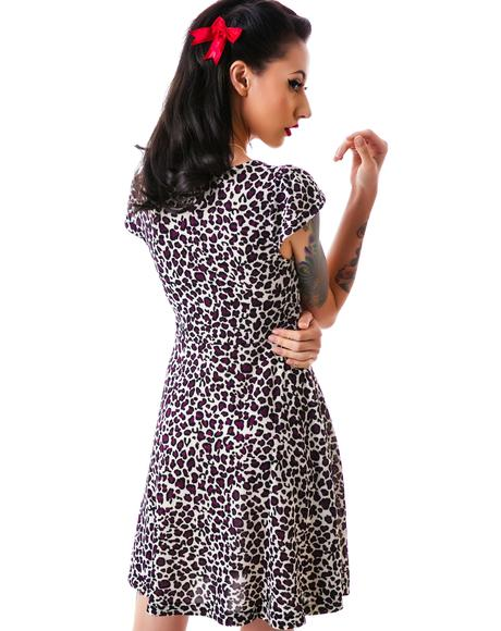 Vavavoom Leopard Dress