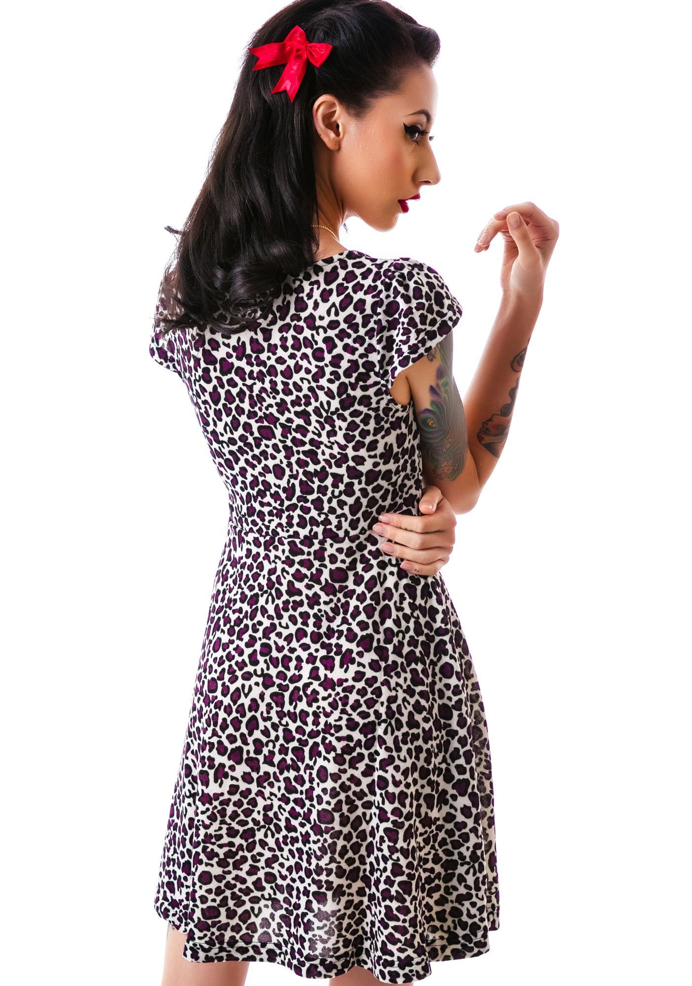 Sourpuss Clothing Vavavoom Leopard Dress
