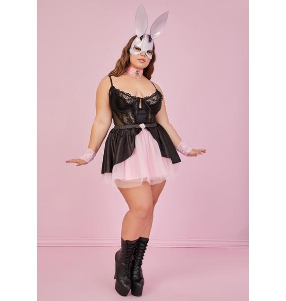 Sugar Thrillz Sweet True Stroke Of Midnight Tulle Skirt