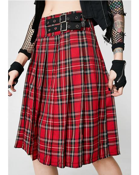 Plaid Intentions Kilt