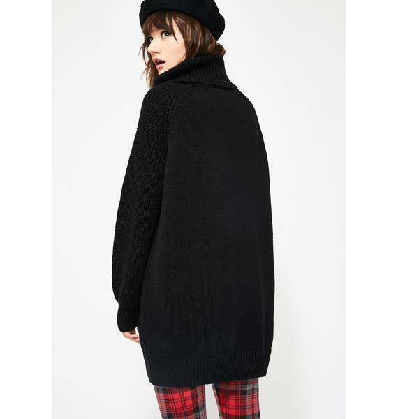 Lazy Oaf Teddy Knit Dress