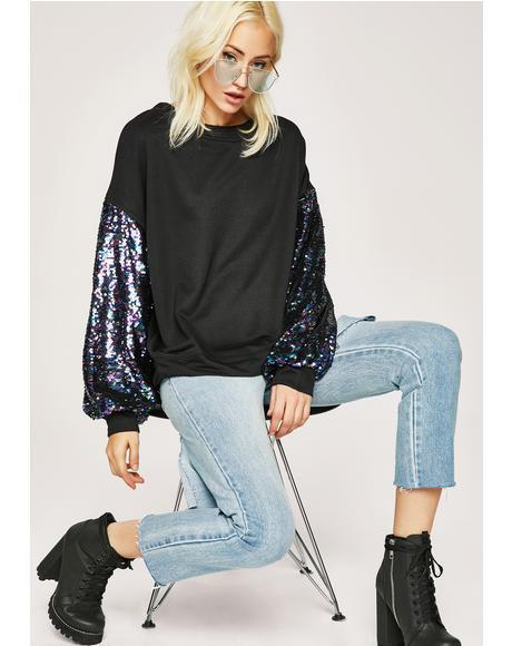 Kindred Spirit Sequin Sweatshirt