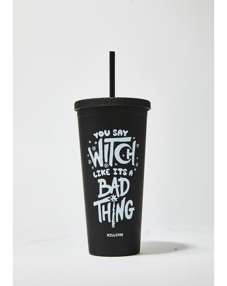 Who's Bad Cold Brew Cup