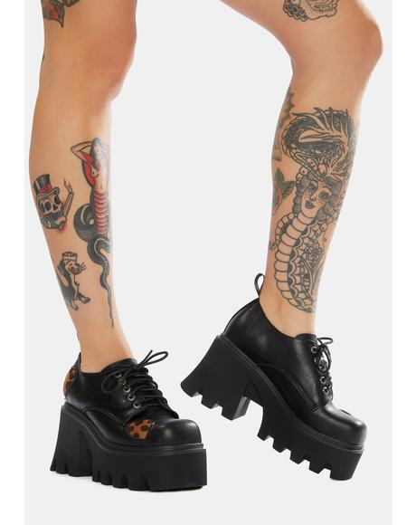 Unmatched Love Chunky Gibson Shoes